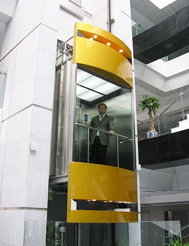 مصعد بانورامي